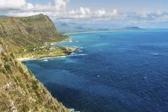 Windwaarts Oahu royalty-vrije stock foto's