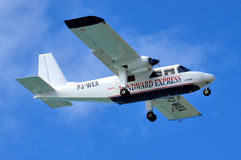 Windward Express airplane Royalty Free Stock Image