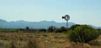 Windwasserpumpe Stockfoto