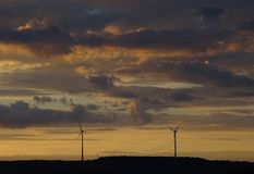 Windwielen Stock Foto