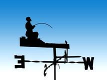 Windwijzer stock illustratie