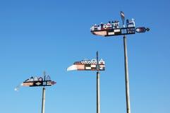 Windwijzers Stock Foto's