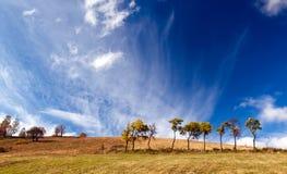 Windy Autumn Sky Stock Photos