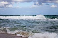 Windy Beach Day immagine stock libera da diritti