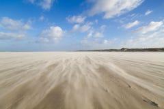 Windy beach Royalty Free Stock Photography