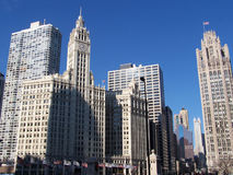 The Windy City Royalty Free Stock Photography