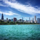 Windy City Fotografia Stock