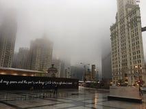 The Windy City stock photo