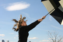 Windy day Royalty Free Stock Images