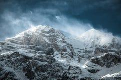 Windy Dolomites Royalty Free Stock Images