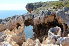Windy Harbour Cliffs West Australia Stock Photo