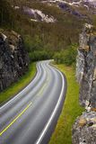 Windy road Royalty Free Stock Photography
