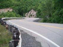 Windy Roadway Fotos de archivo