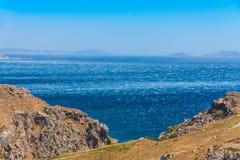 Windy sea Royalty Free Stock Image