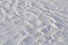 Windy snow surface background Stock Photos