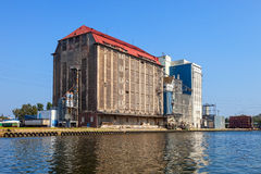 windy stary zbożowy Obrazy Stock