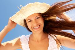 Windy summer Royalty Free Stock Photo