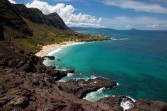 Windzugewandtes Oahu szenisch Lizenzfreies Stockfoto