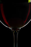 Wine. Glasses of excellent wine on a dark background Royalty Free Stock Photo