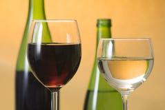 Wine. A dessert wine with glass Stock Photos