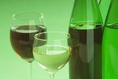 Wine. A dessert wine with glass Stock Photo