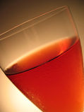 Wine 2. Glass of Rose wine Stock Photography