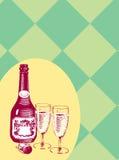 Wine2 Arkivbild
