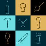 Wine1 ilustração do vetor