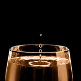 Wine. A drop of cold wine Royalty Free Stock Photos