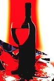 Wine  Abstract Background Royalty Free Stock Image