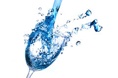 Wine Abstract Splashing Stock Images