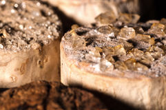 Wine Crystals on old Corks Royalty Free Stock Images