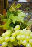 Wine. Is an alcoholic beverage made from fermented grapes or other fruits. The natural chemical balance of grapes lets them ferment without the addition of Royalty Free Stock Photos
