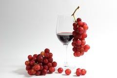 Wine amd grapes Royalty Free Stock Photo