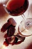 Wine And Chocolate Royalty Free Stock Photo