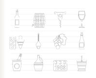 Wine And Drink Icons