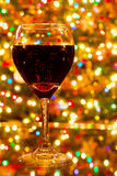 Wine And Lights Royalty Free Stock Photos