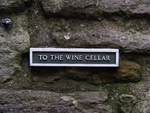 Wine anyone?. A nice day out is not complete without a visit to the wine cellar royalty free stock photos