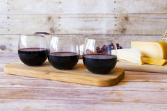 Wine With Appetizer Stock Photography