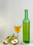 Wine and apples Royalty Free Stock Photos