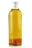 Wine of the apricots. Stock Images