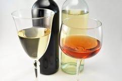 Wine arrangement Royalty Free Stock Image