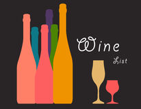 Wine Art Ilustration Royalty Free Stock Photos