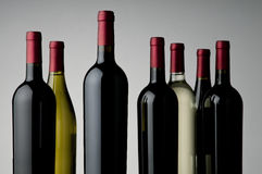 Wine assortment Royalty Free Stock Image