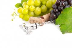 Wine background Stock Photos