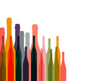 Wine background color Stock Photo
