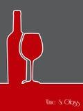 Wine background design Royalty Free Stock Photo