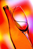 Wine Background Design. Wine Glassware  background design Royalty Free Stock Photos