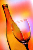 Wine Background Design. Wine Glassware  background design Royalty Free Stock Images