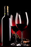 Wine background Stock Images